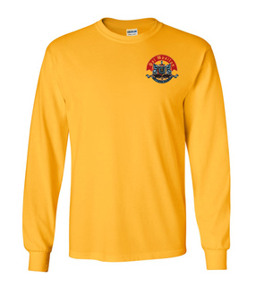 DISCOUNT-Psi Upsilon Crest - Shield Long Tee