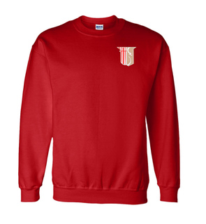 DISCOUNT-Theta Chi World Famous Crest - Shield Crewneck Sweatshirt