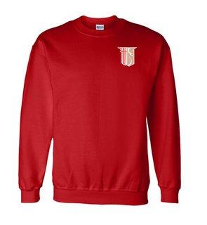 DISCOUNT-Theta Chi World Famous Crest - Shield Crewneck Sweatshirt