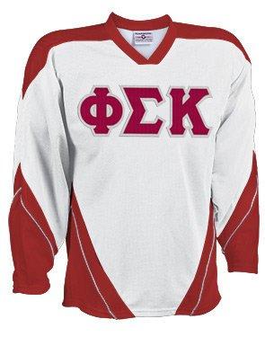 Discount Phi Sigma Kappa Breakaway Lettered Hockey Jersey Sale