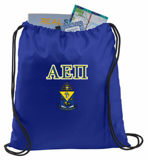 Alpha Epsilon Pi Crest - Shield Cinch Sack