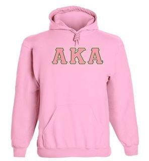 Alpha Kappa Alpha - 2 Day Ship Twill Hooded Sweatshirt
