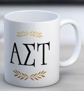 Alpha Sigma Tau Letter Coffee Mug