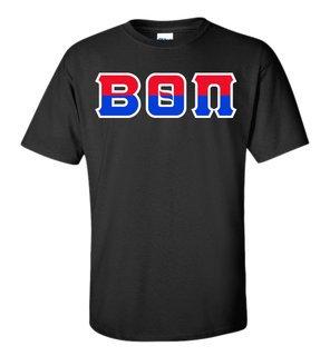 Beta Theta Pi Two Tone Greek Lettered T-Shirt