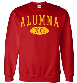 Chi Omega Alumna Sweatshirt