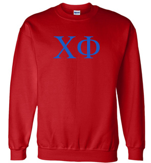 Chi Phi Lettered World Famous Greek Crewneck