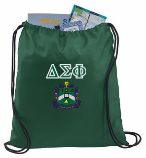 Delta Sigma Phi Crest - Shield Cinch Sack