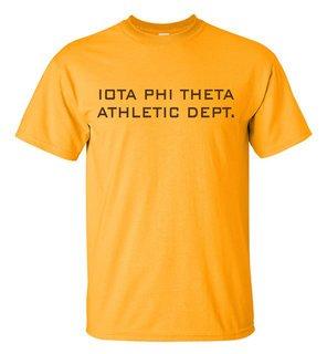 Iota Phi Theta Ath. Dept. Tee