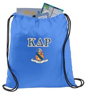 Kappa Delta Rho Crest - Shield Cinch Sack