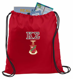 Kappa Sigma Crest - Shield Cinch Sack