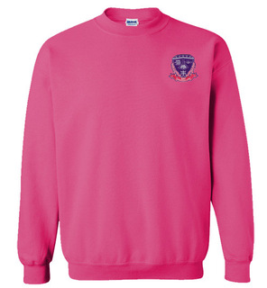 DISCOUNT-Sigma Lambda Gamma World Famous Crest - Shield Crewneck Sweatshirt