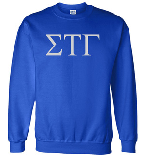 Sigma Tau Gamma Lettered World Famous Greek Crewneck