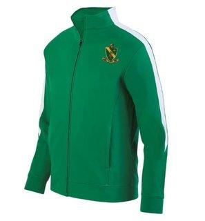 Alpha Gamma Rho Crest - Shield Medalist Track Jacket