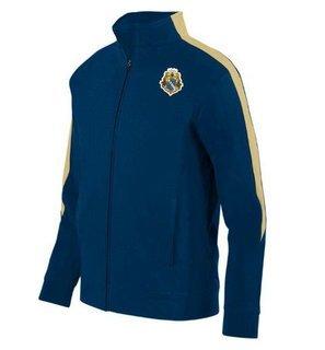 Alpha Phi Omega Crest - Shield Medalist Track Jacket