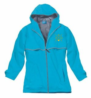 Alpha Phi Omega New Englander Rain Jacket
