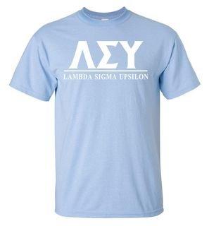 Lambda Sigma Upsilon Bar Shirt