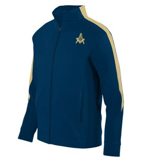 DISCOUNT-Mason / Freemason Crest - Shield Track Jacket