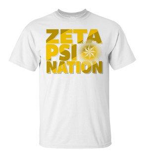 Zeta Psi Nation T-Shirt
