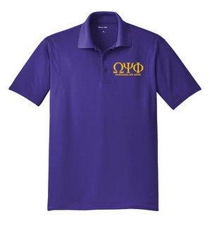 Omega Psi Phi Sports Polo