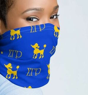 Sigma Gamma Rho Neck Gaiters