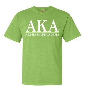 Alpha Kappa Alpha Comfort Colors Heavyweight T-Shirt