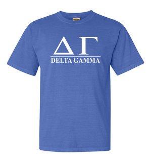 Delta Gamma Comfort Colors Heavyweight T-Shirt