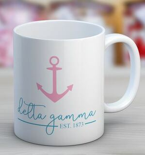 Delta Gamma Established Coffee Mug