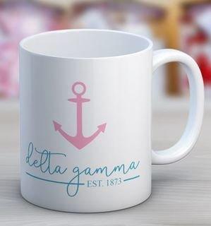 Delta Gamma Established Coffee Mug