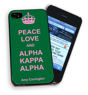 Peace Love & Alpha Kappa Alpha Phone Cover