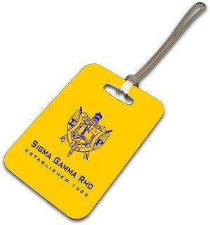 Sigma Gamma Rho Luggage Tag