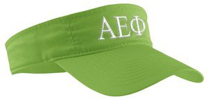 Alpha Epsilon Phi Greek Letter Visor