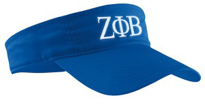 Zeta Phi Beta Greek Letter Visor