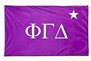 Phi Gamma Delta FIJI Fraternity Chapter Flag