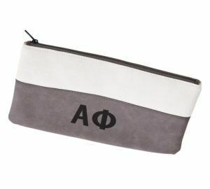 Alpha Phi Letters Cosmetic Bag