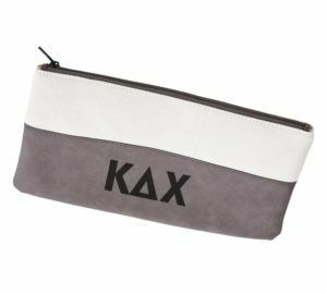 Kappa Delta Chi Letters Cosmetic Bag