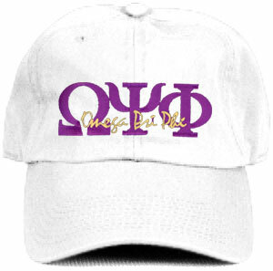 DISCOUNT-Omega Psi Phi Hat - Letters