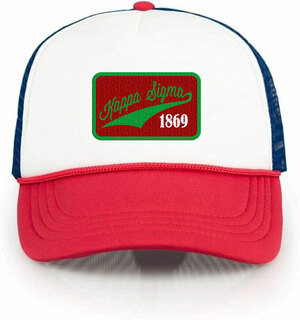 Kappa Sigma Red, White & Blue Trucker Hat