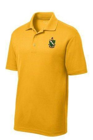 DISCOUNT-FarmHouse Fraternity Crest - Shield Emblem Polo