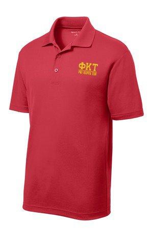 $30 World Famous Phi Kappa Tau Greek PosiCharge Polo