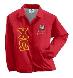 Chi Omega Lettered Jacket