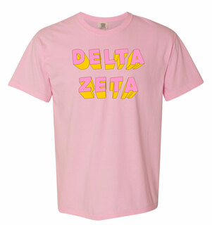 Delta Zeta 3Delightful Tee