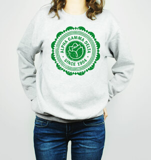 Alpha Gamma Delta Seal Crewneck Sweatshirt