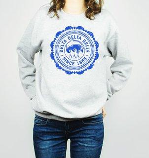 Delta Delta Delta Seal Crewneck Sweatshirt