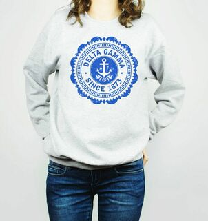 Delta Gamma Seal Crewneck Sweatshirt