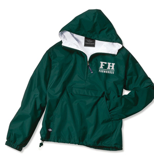 FarmHouse Fraternity Letter Anoraks