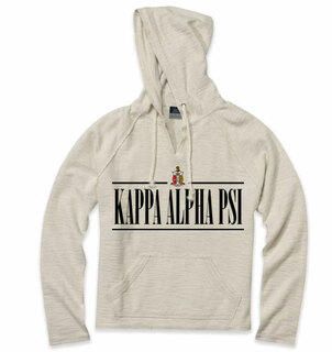 Kappa Alpha Psi Line Crest Lucas Loop Fleece Hood