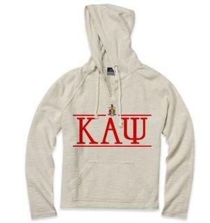 Kappa Alpha Psi Line Crest Lucas Loop Fleece Hood