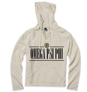 Omega Psi Phi 2020 Crest Lucas Loop Fleece Hood