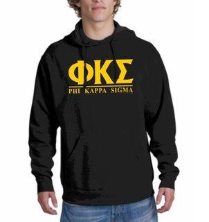 Phi Kappa Sigma bar Hoodie