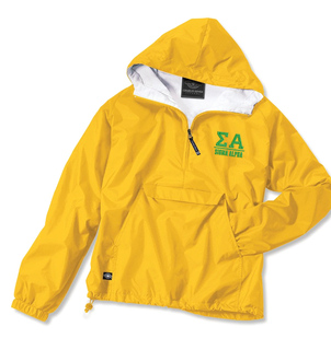 Sigma Alpha Greek Letter Anoraks